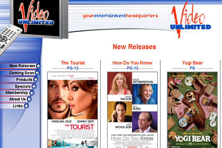 On line movie rental download
